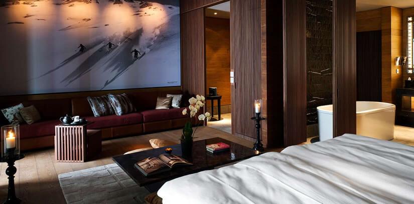 Chedi Andermatt Luxury Alps Hotel Deluxe Room