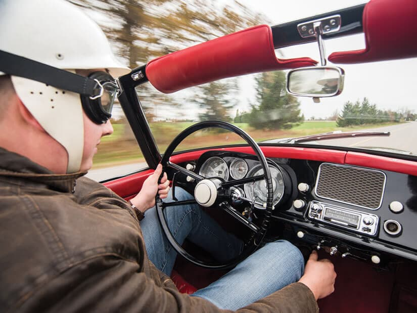 Dashboard, Rare 1959 BMW 507 Roadster Series II