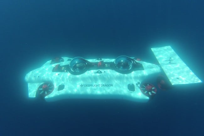 Deepflight Dragon Personal Submarine 10