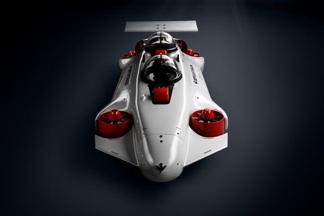 Deepflight Dragon Personal Submarine 8