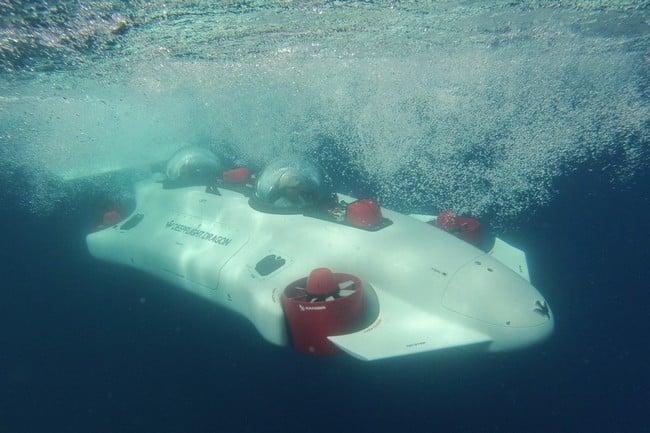 Deepflight Dragon Personal Submarine 9
