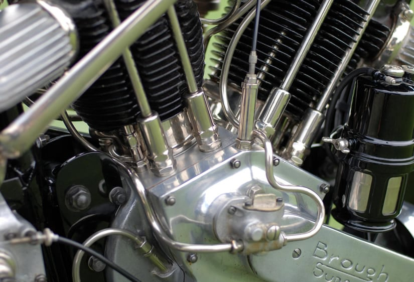 Engine 1926 Brough Superior SS100 Alpine Grand Sports
