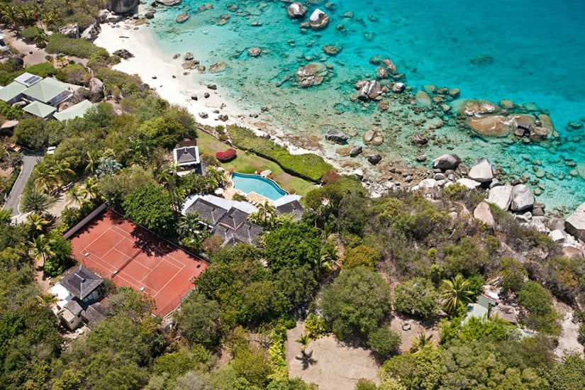 Exquisite Sol y Sombra Villa in the Caribbean, Top View