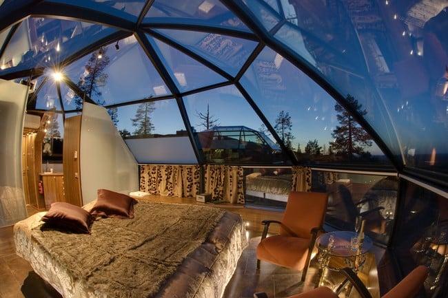 Kakslauttanen Arctic Resort in Finland 5