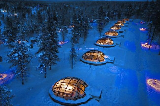 Kakslauttanen Arctic Resort in Finland 8
