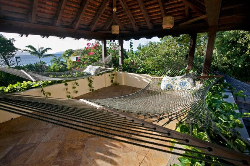 Lounge Area, Sol y Sombra Villa in the Caribbean