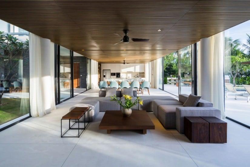 Luxury Naman Residence, Living Room
