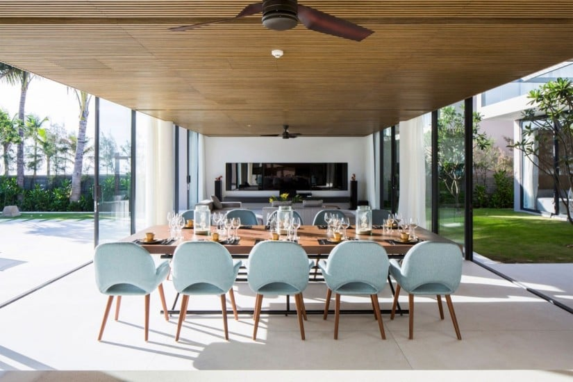 Luxury Naman Residence by MIA Design Studio, Dining Area