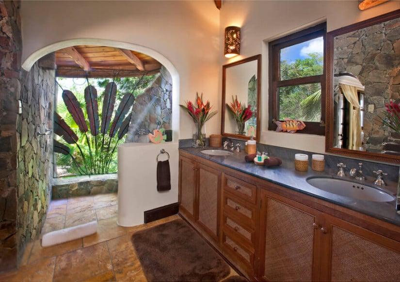 Luxury Sol y Sombra Villa, Bathroom