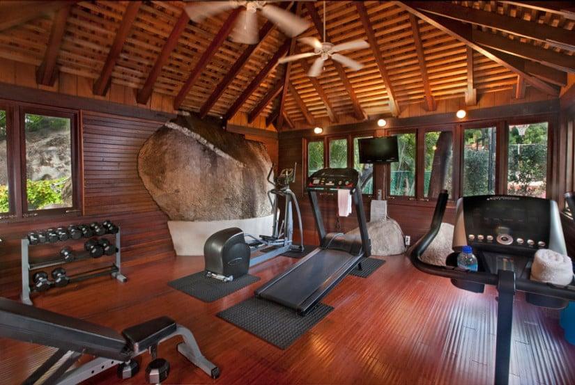Luxury Sol y Sombra Villa, Gym