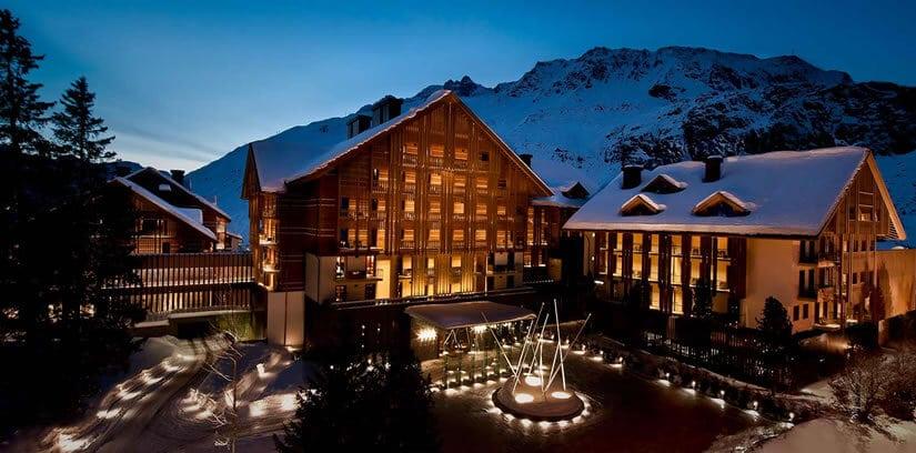 Luxury Swiss Chedi Andermatt Hotel