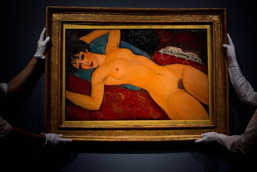 Most Expensive Artwork, Nu Couche by Amedeo Modigliani