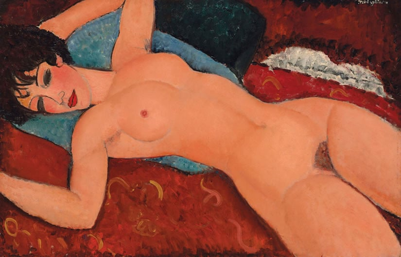 Nu Couche by Amedeo Modigliani