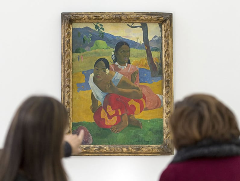 Paul Gauguin's When Will You Marry Painting