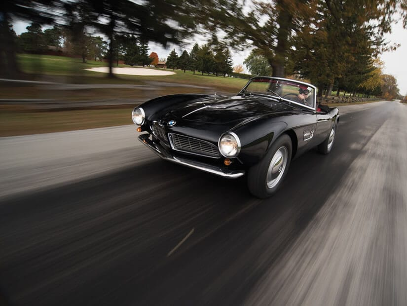 Rare 1959 BMW 507 Roadster Series II, Front View