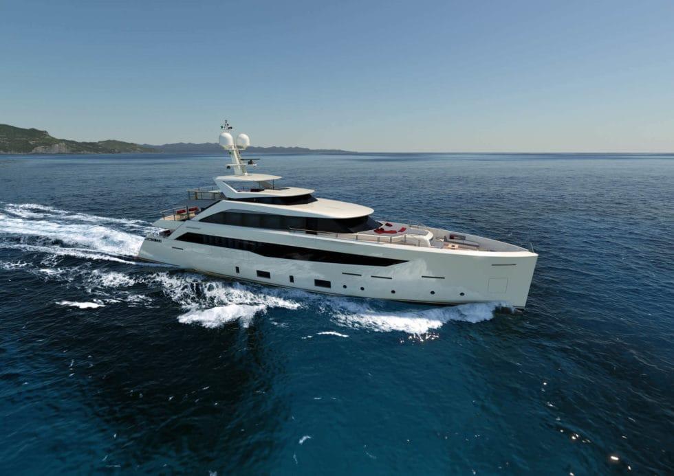SF40 Serenity Luxury Yacht by Mondomarine