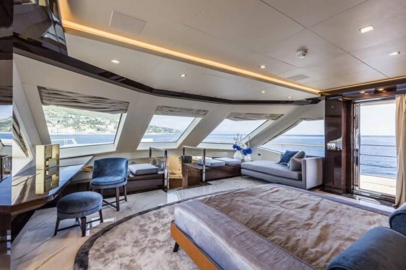 SF40 Serenity Superyacht by Mondomarine, Owners Suite