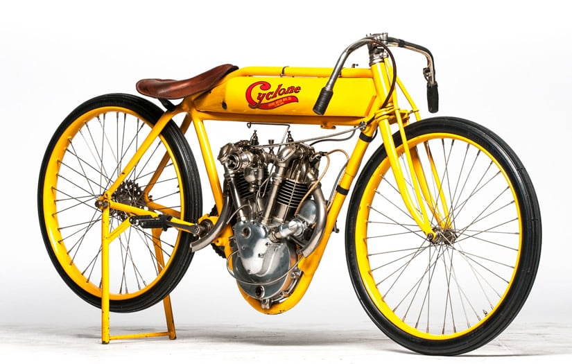 Spectacular 1915 Cyclone Motorcycle