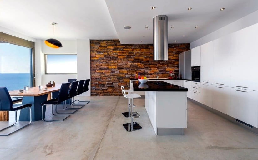Superb Villa Kyma in Glyfada, Kitchen