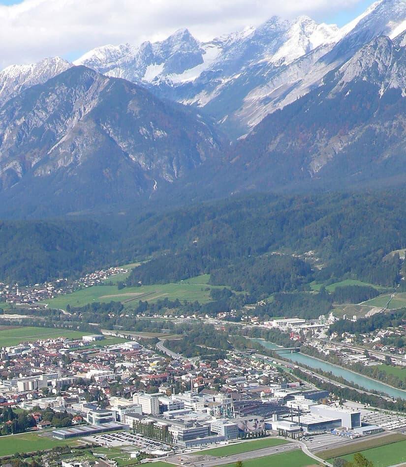 Swarovski Crystal headquarter in Wattens Austria