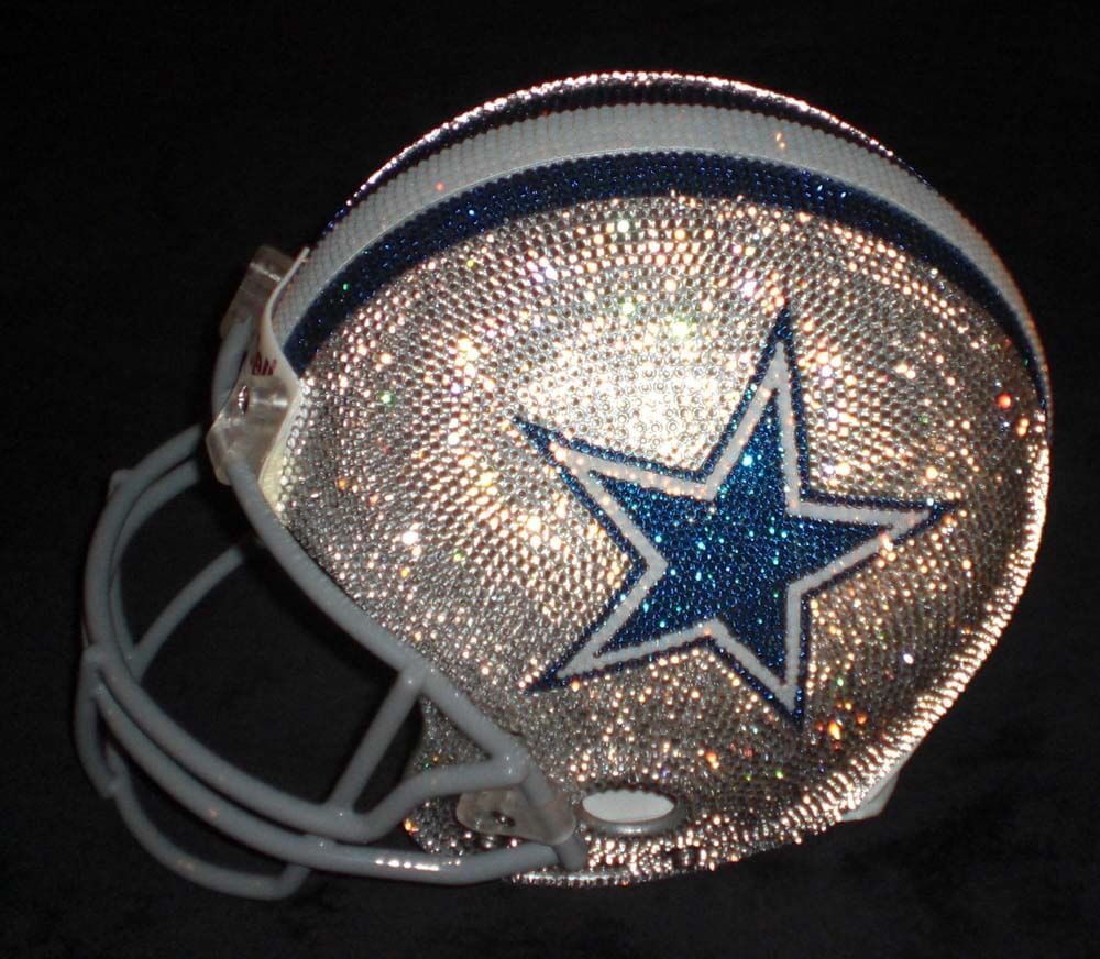 Swarovski NFL Helmets by Q Gregory