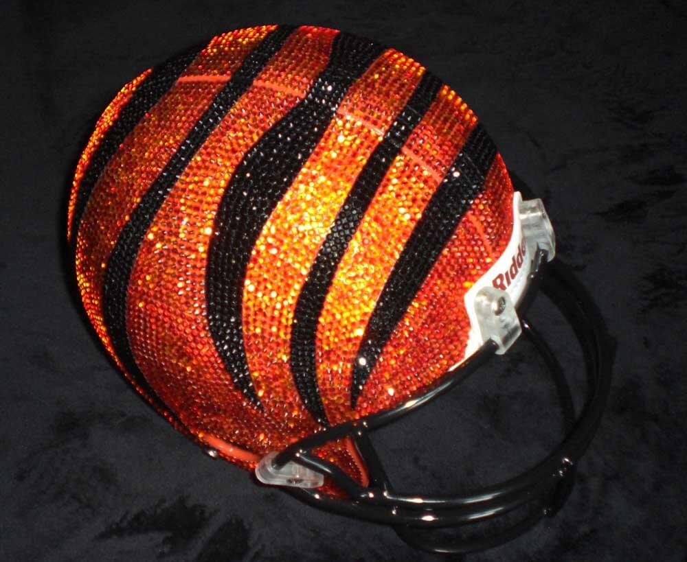 Swarovski NFL Helmets by Quinn Gregory