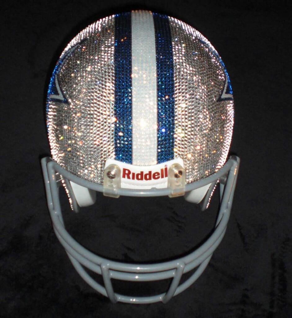 Swarovski NFL Helmets