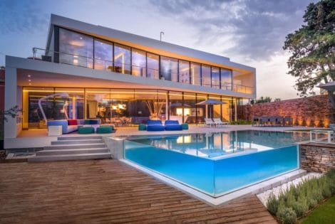 Swimming Pool, Luxury Cool Blue Villa in Spain