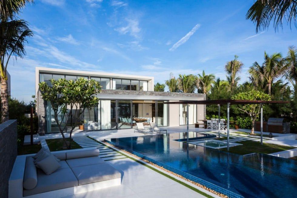 Swimming Pool, Naman Residence in Vietnam by MIA Design Studio