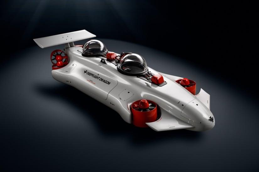 The DeepFlight Dragon Submarine