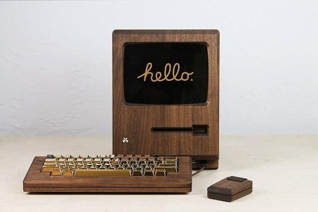 The Golden Apple Macintosh 128k replica 1