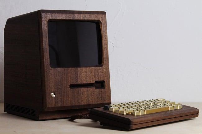 The Golden Apple Macintosh 128k replica 6