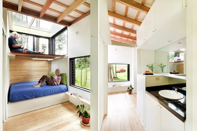 Tiny Green-Roofed Home In Ecuador 8