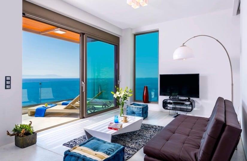 Villa Kyma in Glyfada, Living Room