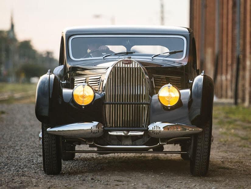 1938 Bugatti Type 57C Atalante, Front View