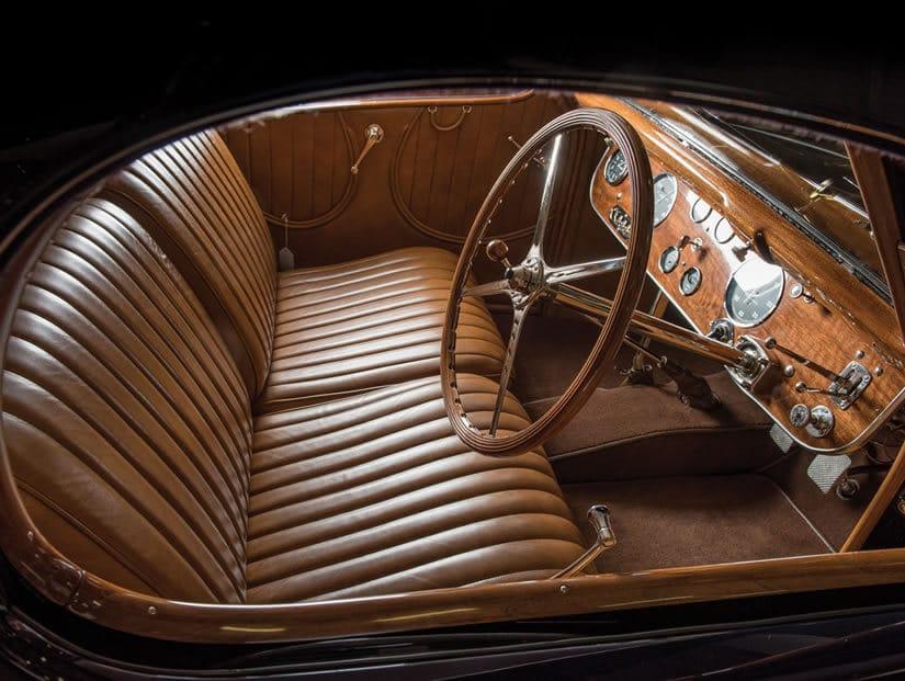 1938 Bugatti Type 57C Atalante, Interior