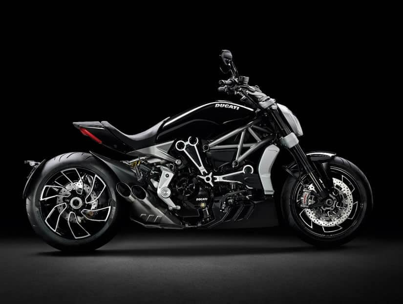 2016 Ducati XDiavel Motorcycle Side View