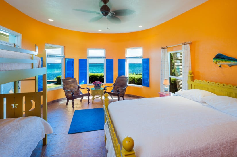 Cayman Castle Private Residence, Bedroom