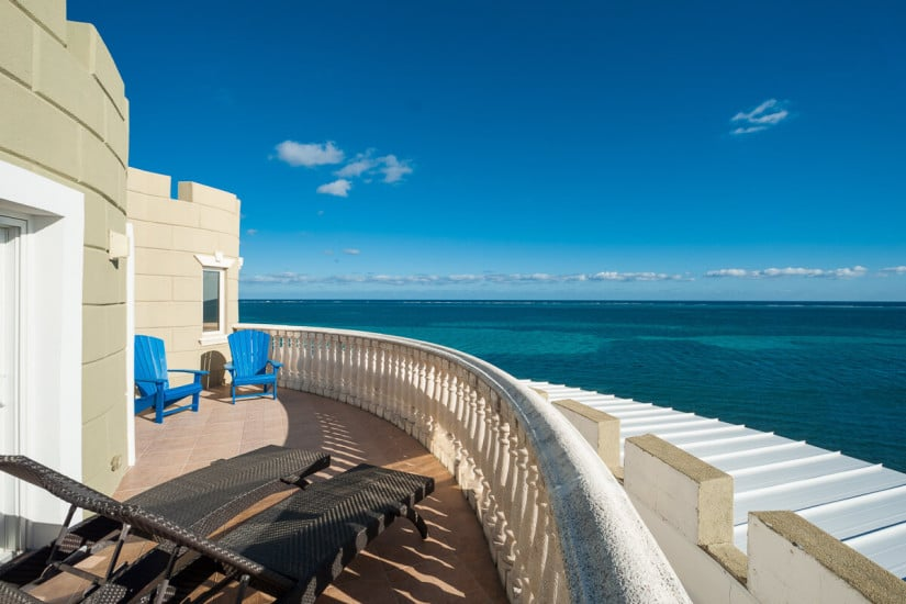 Cayman Castle Private Residence, Terrace