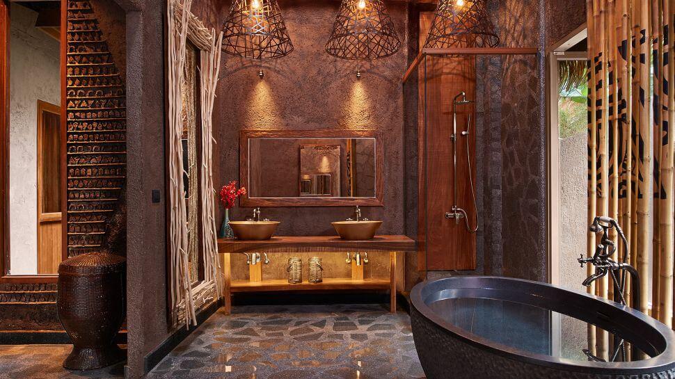 Cottage Bathroom, Serene Keemala Hotel in Phuket