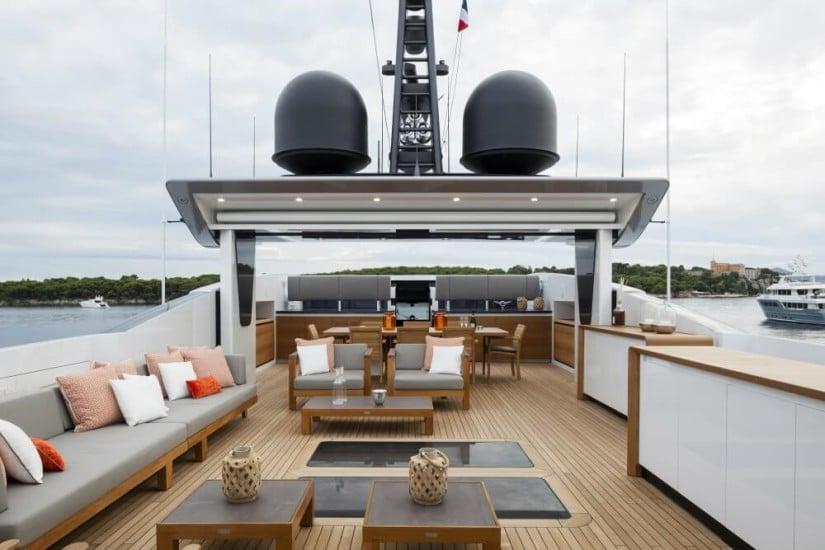 Deck, Baglietto Pachamama Superyacht