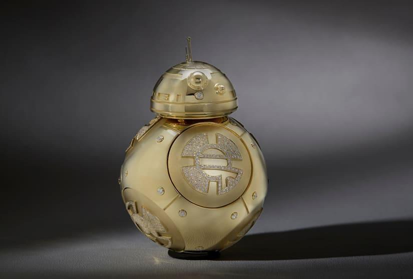 Diamond Studded Star Wars BB-8 Droid
