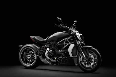 Ducati XDiavel, Matt Black Paint