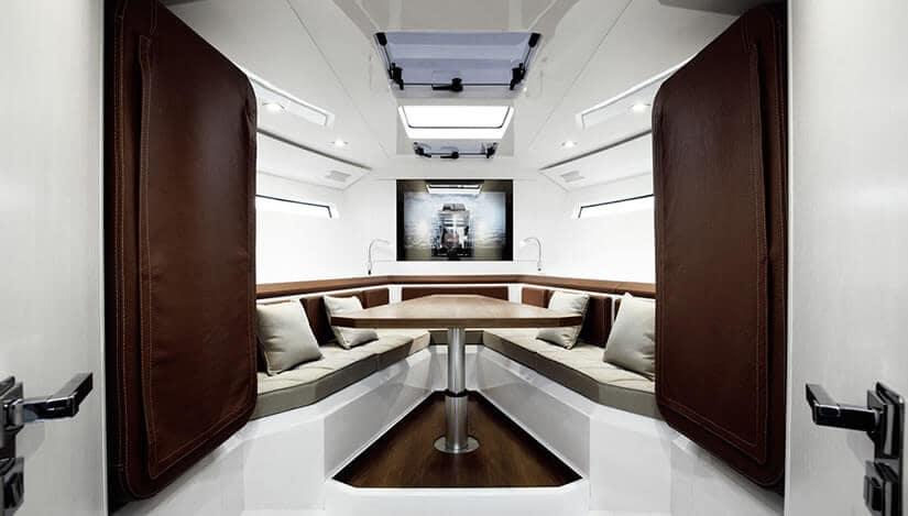 Evo 43 Boat Interior