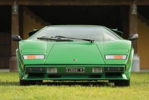 Front View, 1981 Lamborghini Countach LP400 S Series III