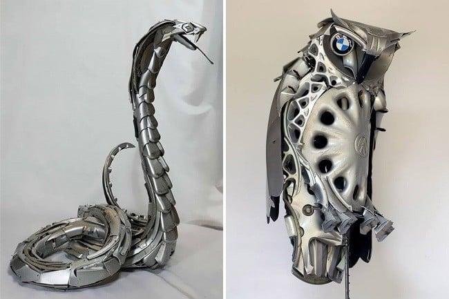 Hubcap Creatures 5