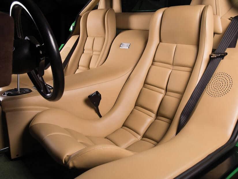 Interior Leather, 1981 Lamborghini Countach LP400 S Series III