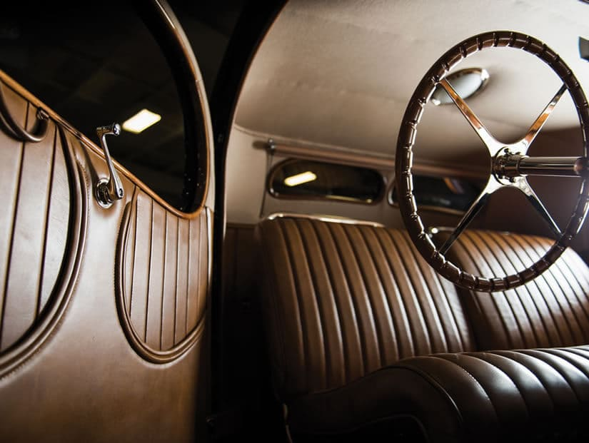 Luxury Interior, 1938 Bugatti Type 57C Atalante
