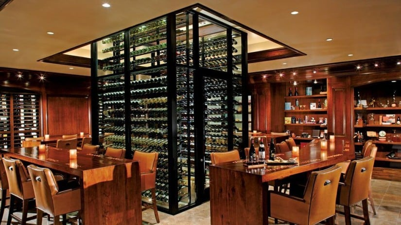 Luxury Ritz-Carlton Laguna Niguel, Wine Cellar