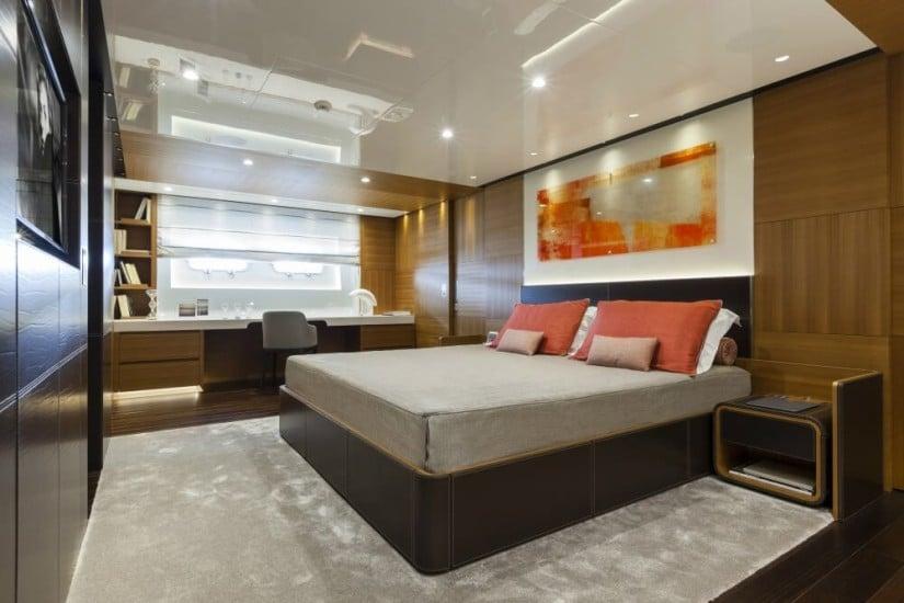 Master Suite, Luxury Superyacht Pachamama